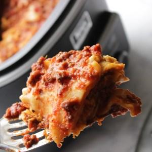Crockpot Lasagna Easy Dinner Recipe
