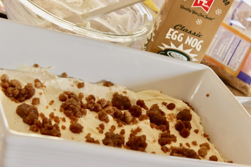 eggnog dessert recipe
