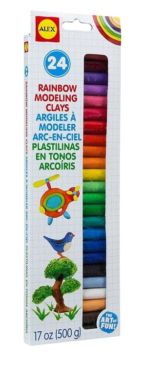 ALEX Toys Artist Studio 24 Rainbow Modeling Clays