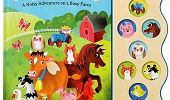 Busy Noisy Farm: Interactive Children's Sound Book $6.84 (reg. $18.99)