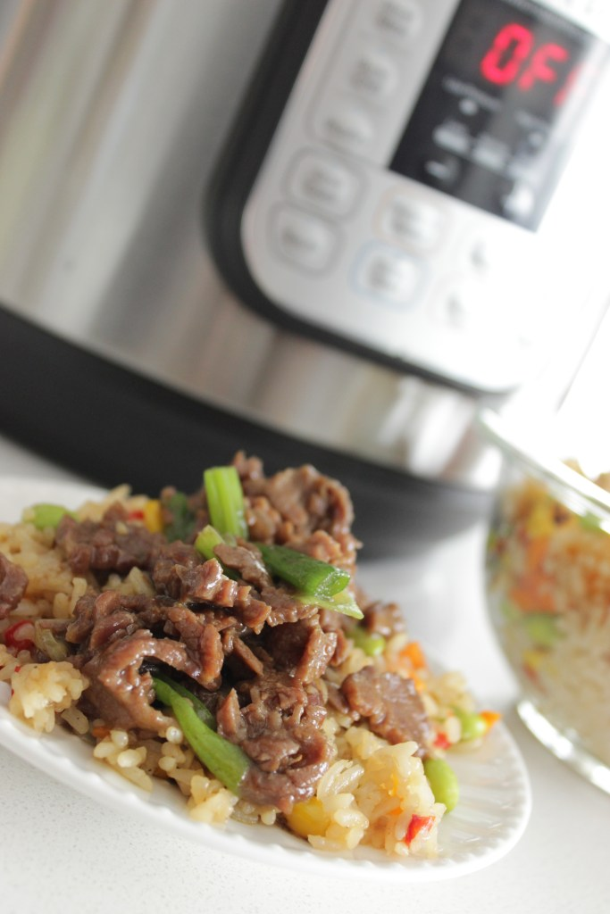 This Instant Pot Beef recipe is my go to!