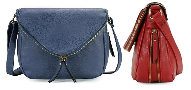 Scarleton Stylish Zipper Flap Crossbody Bag