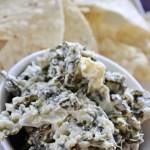 fresh spinach artichoke dip