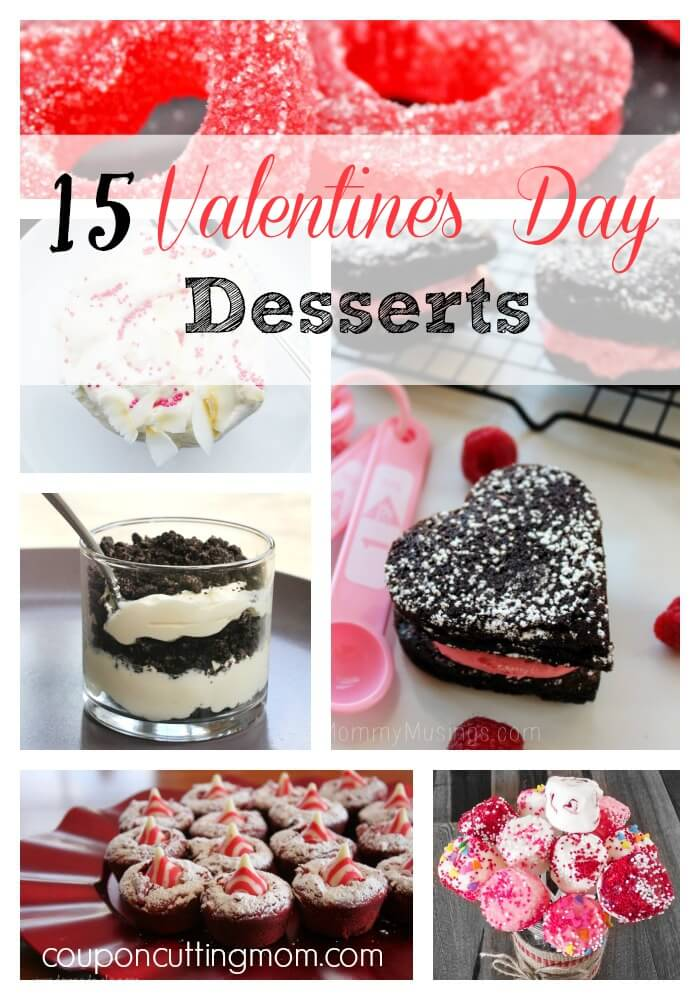 15 Delicious Valentines Day Desserts Round Up