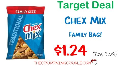 Chex Mix Deal Big Bags For 1 24 With Target Deal Reg 3 09