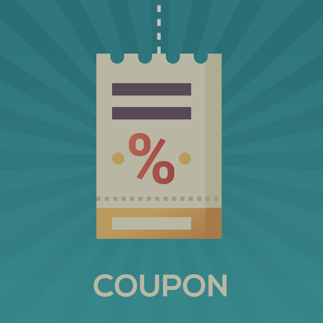 Huge discount, but full value coupon(s)!