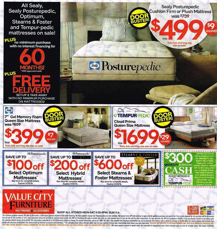 Value City Furniture Black Friday Ads Sales Deals 2016
