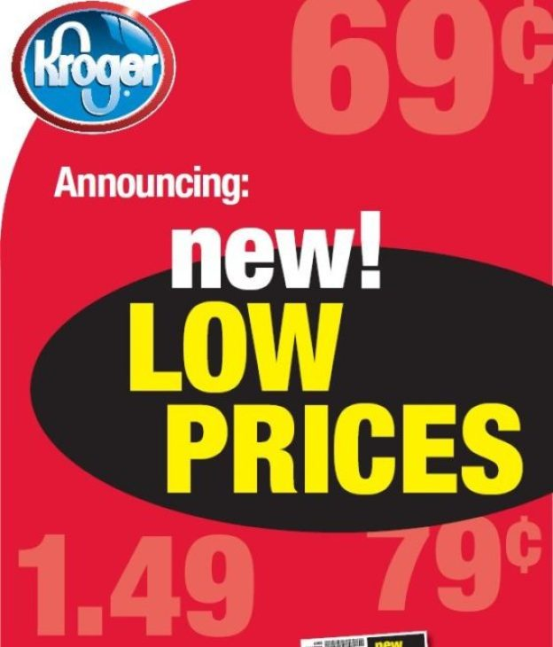 Kroger new low prices