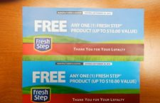 Fresh Step fraudulent coupon