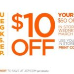 JCP Offers Another Coupon, As Competitors Rub It In