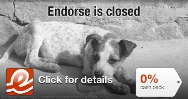 Endorse Closed