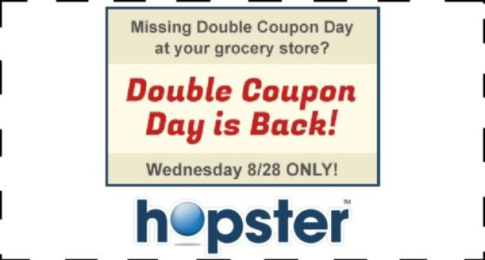 Hopster double coupon day