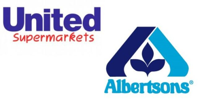 United-Albertsons logos