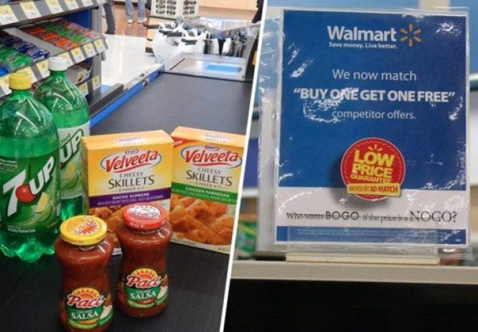 Walmart BOGO match