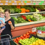 What Moms Are Really Doing in the Grocery Store