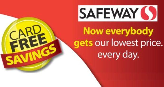Safeway coupons & club card savings december 2018.