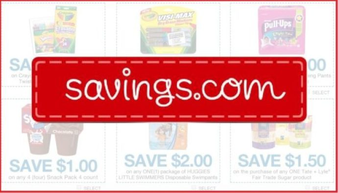 Savings.com coupons
