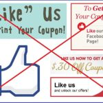 "New Facebook Rules: No More ""Likes"" for Coupons"