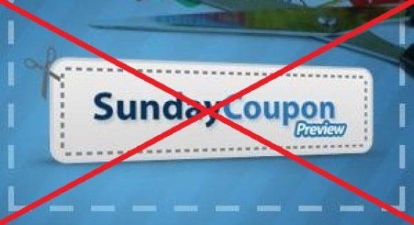 No more Sunday Coupon Preview