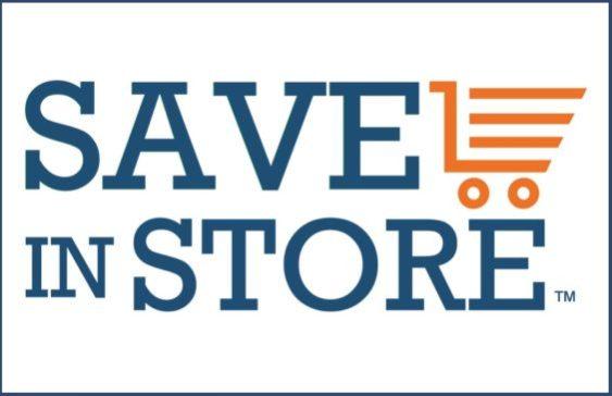 SaveInStore logo