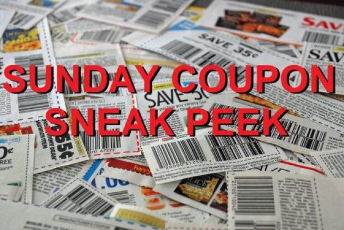 Sunday Coupon Sneak Peek