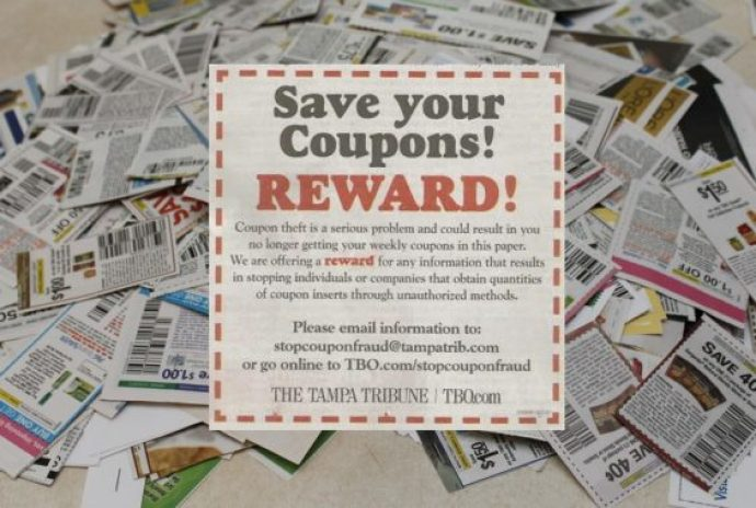 Tampa Tribune coupon reward