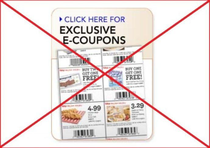 No e-coupons