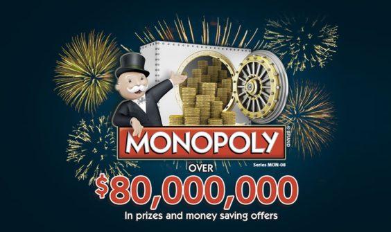 Albertsons Monopoly 2015