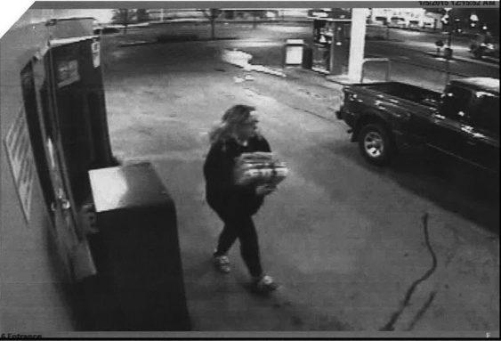 Newspaper thief captured
