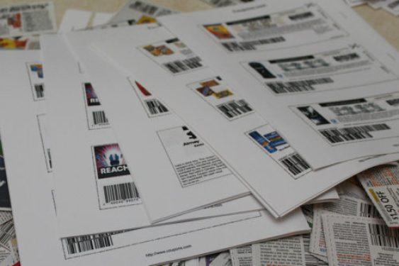Printable Coupon Pile