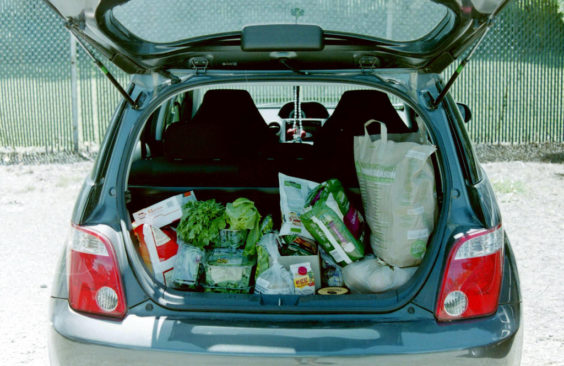 grocery trunk photo