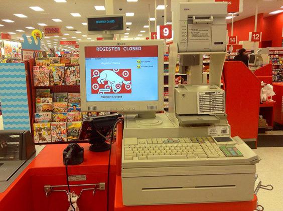 target cash register photo