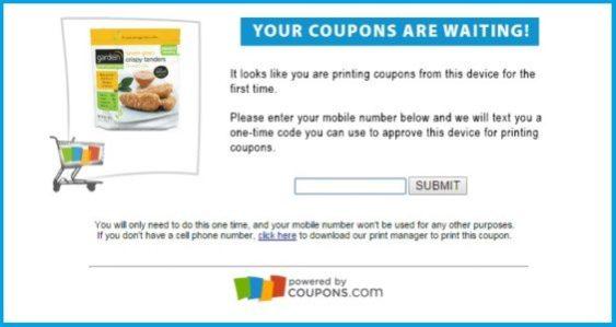 Coupons.com text-to-print