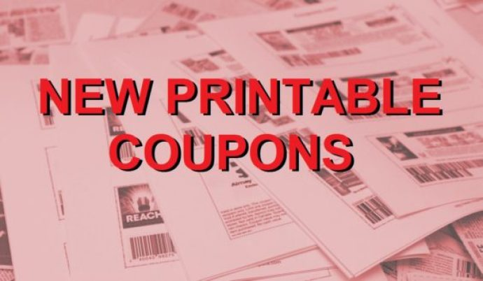 New Printable Coupons 2