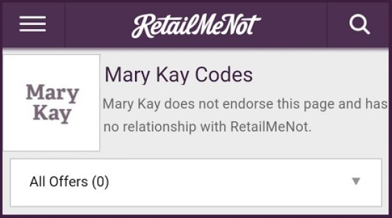 bbdb6ea6a RetailMeNot and Mary Kay Settle Coupon Code Fight - Coupons in the News