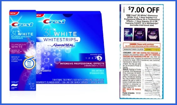 picture about Crest Printable Coupons named Glitchers inside Mourning: Crest Whitestrips Coupon codes At this time Just