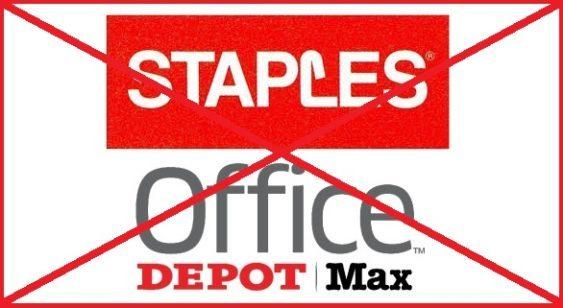 Staples-Office Depot denied