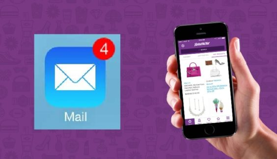 Email-mobile coupons