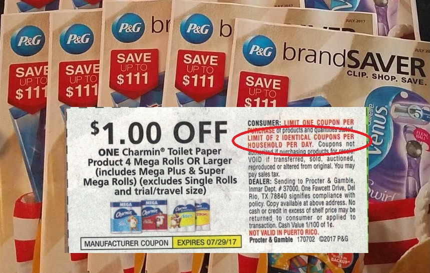 P G Imposes Stricter New Coupon Rules Coupons In The News