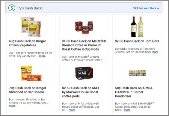 photo about Fry's Printable Coupons identify Grocer Introduces a Refreshing Path in direction of Redeem Rebates (With no