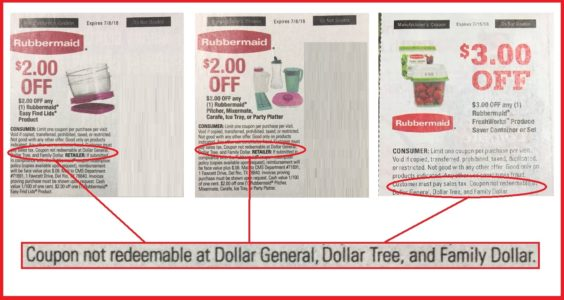 Warning Dont Try To Use These Coupons At A Dollar Store