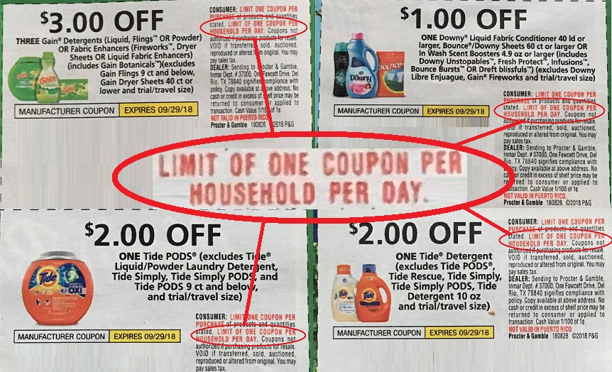 f54eaec7f1a P G Imposes Even Stricter New Coupon Limits. Again. - Coupons in the News