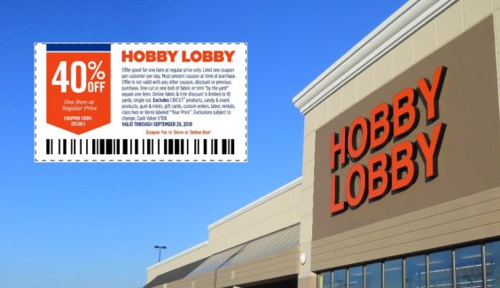 picture regarding Hobby Lobby Coupon Printable titled Jury in direction of Make your mind up If Pastime Lobbys Coupon codes and Pricing Are