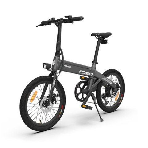 14 off himo c20 20 inch folding 80km range power assist electric bicycle moped
