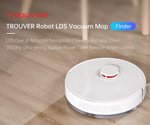 21 off trouver finder robot vacuum cleaner 2 in 1 sweep and mop 2000pa powerful suction