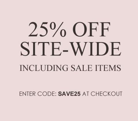25 off site wide