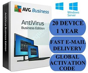 20 off avg antivirus business edition