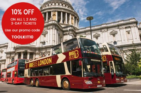 50 off classic tickets big bus tours london