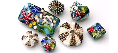 50 off on lampwork beads