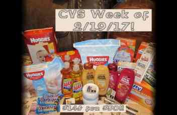 CVS Haul Pic Week of 2-19-17